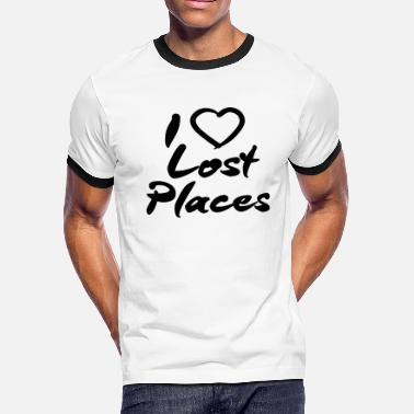 Lost Place I LOVE LOST PLACES! - Men's Ringer T-Shirt