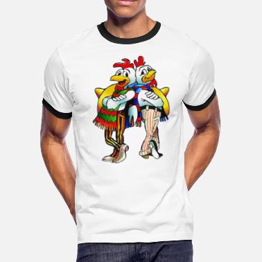 Keyword Los Pollos Hermanos_N2 - Men's Ringer T-Shirt