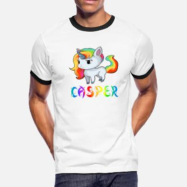 Casper Birth Casper Unicorn - Men's Ringer T-Shirt