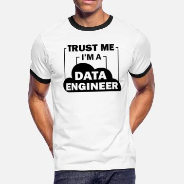 Data Preservation Data Engineer Data Science - Men's Ringer T-Shirt