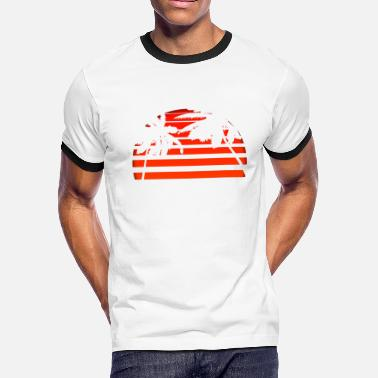 Seagull Shit The Miami Feel - Men's Ringer T-Shirt