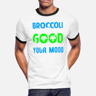 Good Clean Fun Broccoli is Always Good for you and your Mood - Men's Ringer T-Shirt