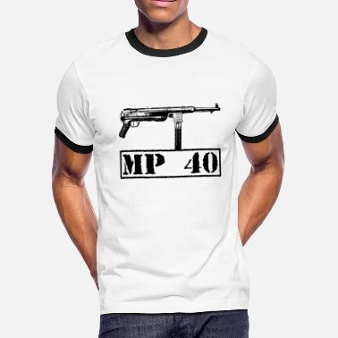 Submachine Gun Submachine gun 40 - Men's Ringer T-Shirt