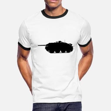 Hetzer tank destroyer 38 (t) military shirt gift i - Men's Ringer T-Shirt