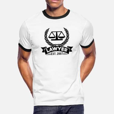 Funny Lawyer Lawyer Funny Shirt - Men's Ringer T-Shirt