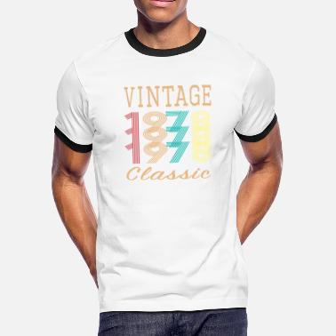 9645c5290 retro Vintage 1978 classic 40th Birthday Gift for Men & Women - Men'.  Men's Ringer T-Shirt