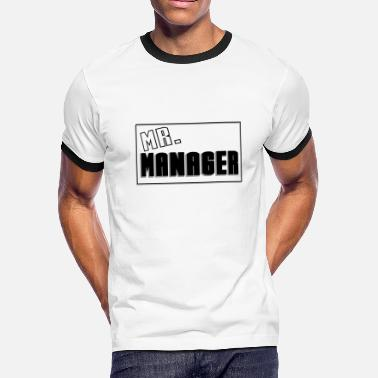 Mr Manager MR. - Men's Ringer T-Shirt