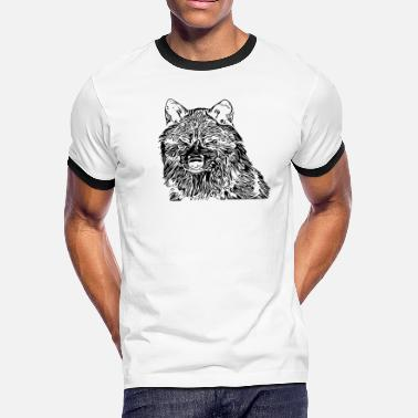 Lonely Wolf Lone wolf - Men's Ringer T-Shirt