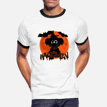 Halloween Womens T Halloween t-shirt dogs - Men's Ringer T-Shirt