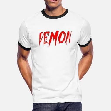 Demonic demon - Men's Ringer T-Shirt