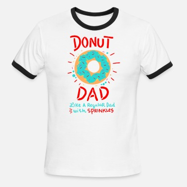 4c3d6b6e Funny Donut Dad Shirt with Sprinkles Gift T-Shirt Men's Premium Tank ...
