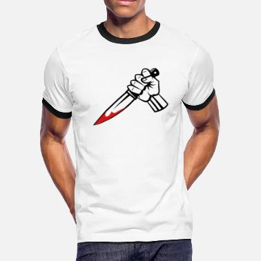 Stab Stabbing - Men's Ringer T-Shirt