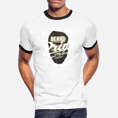 Beard Pride Beard Pride Respect The Beard - Men's Ringer T-Shirt
