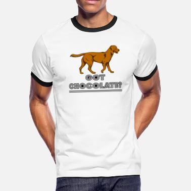 Chocolate Lab Got Chocolate Lab T shirts - Men's Ringer T-Shirt