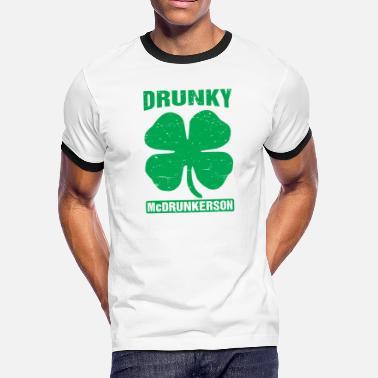 b2e4431e3 Sort by. RelevanceNewest. St Patricks Day Drinking Drunky Mcdrunkerson Funny  St Patricks Day Drinking - Men'. Men's Ringer T-Shirt