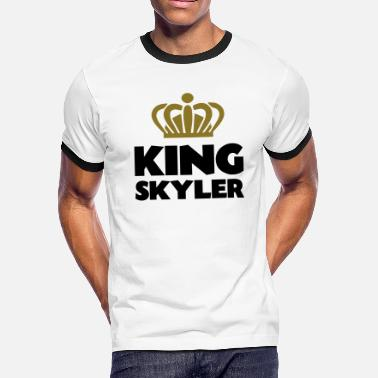 Skyler King skyler name thing crown - Men's Ringer T-Shirt