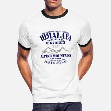 Hiking Himalaya - Nepal - Men's Ringer T-Shirt