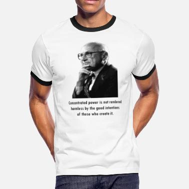 Friedman Milton Friedman Concentrated Power - Men's Ringer T-Shirt