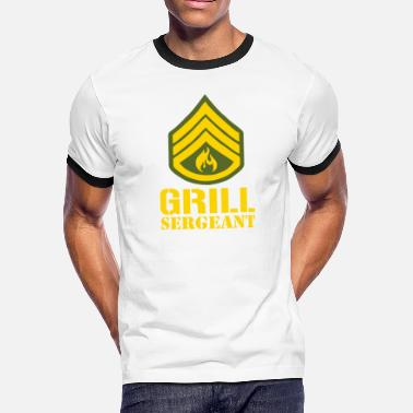 Sergeant Military Grill Sergeant Military - Men's Ringer T-Shirt