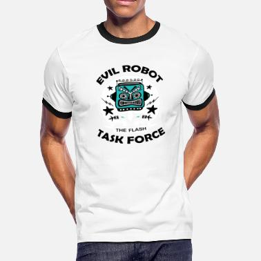 Taskforce Evil Robot Taskforce - Men's Ringer T-Shirt