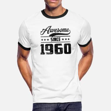 Awesome Since Awesome Since 1960 - Men's Ringer T-Shirt