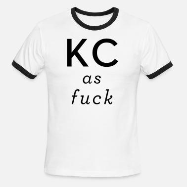 f37636aa88d8f Kansas City As Fuck KCAF Men s Premium T-Shirt