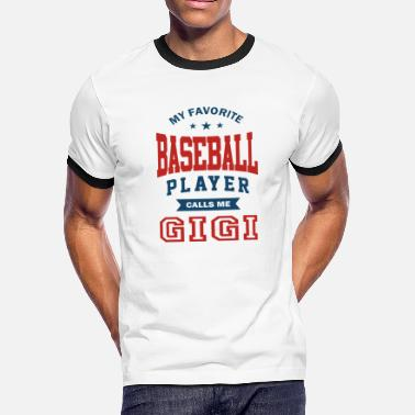 Commonwealth Baseball player grandmother - Men's Ringer T-Shirt