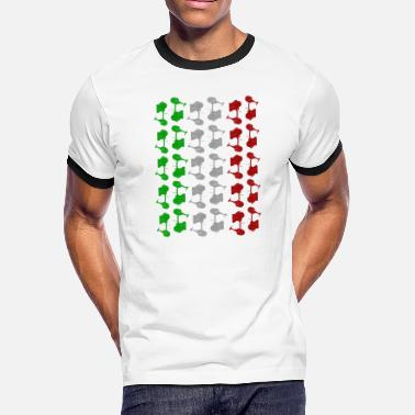 Italie Italie - T-shirt contrastant Homme