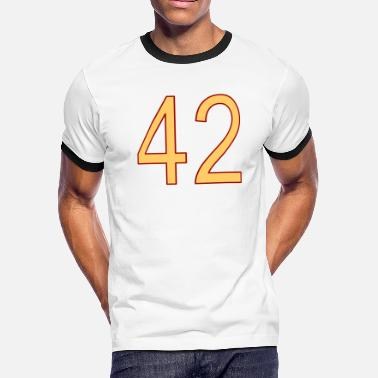 42 - Men's Ringer T-Shirt
