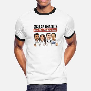 Middle East Secular Jihadists from the Middle East - Men's Ringer T-Shirt