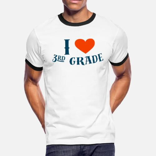 I Love 3rd Grade Heart Graphic School Uniform First Day Of School