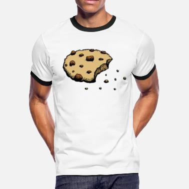 Biscuit Bake crumbling cookie sweet lovers baking biscuits gift - Men's Ringer T-Shirt