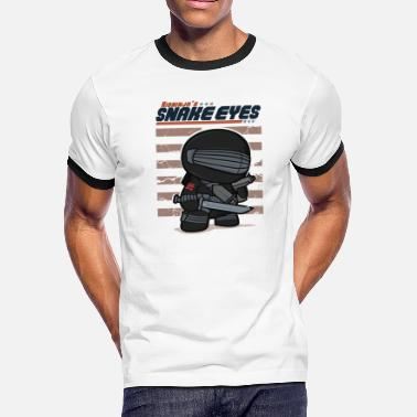 Snake Eyes Snake Eyes - Men's Ringer T-Shirt