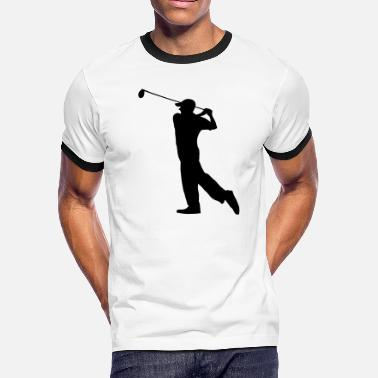 Golf Clubs Golf - Golf clubs - Men's Ringer T-Shirt