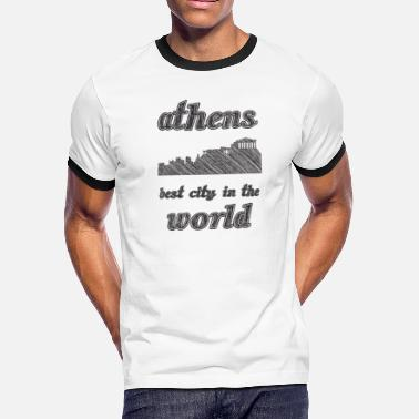Athens City ATHENS Best city in the world - Men's Ringer T-Shirt