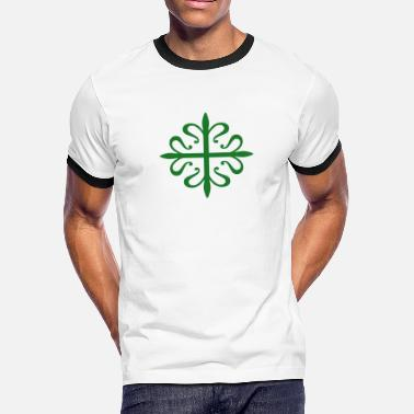Julián Alcantara Cross - Men's Ringer T-Shirt