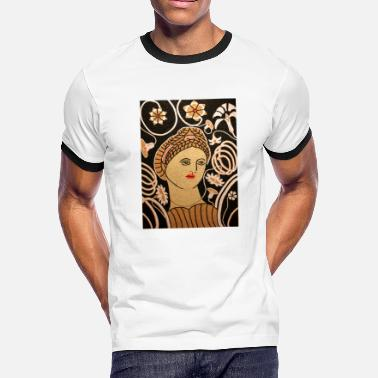 Luxury Beautiful Woman gift idea - Men's Ringer T-Shirt