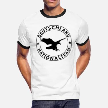 National Team Deutschland National Team Design - Men's Ringer T-Shirt