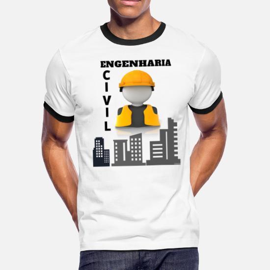 649c7d7ee5 Men s Ringer T-ShirtEngenharia Civil Jaquetas