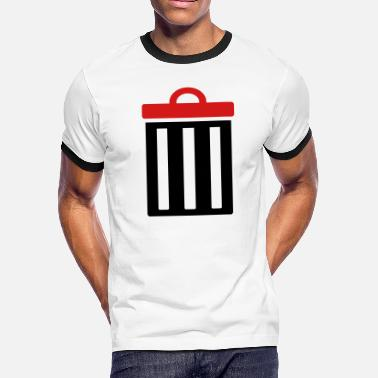 Garbage Bin Garbage bin for trash - Men's Ringer T-Shirt