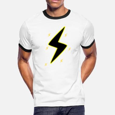 High Voltage high voltage - Men's Ringer T-Shirt