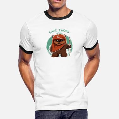 Ewoks Save Ewoks - Men's Ringer T-Shirt