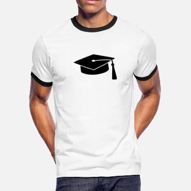 Pass graduation hat v2 - Men's Ringer T-Shirt