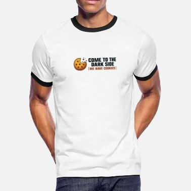 768475bbf Come To The Dark Side. We Have Cookies! - Men's. Men's Ringer T-Shirt