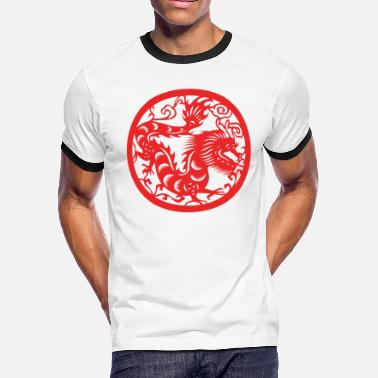 Chinese New Years - Zodiac - Year of the Dragon - Men's Ringer T-Shirt