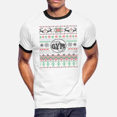 b6f1ccc11 Gym Christmas Christmas shirt for the gym - Men's Ringer T-
