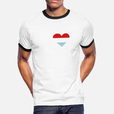Rembrandt I Love Holland - Men's Ringer T-Shirt