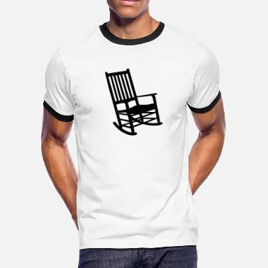 Chair Rocking Chair VECTOR - Men's Ringer T-Shirt