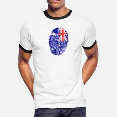 Made In Australia Made In Australia - Men's Ringer T-Shirt