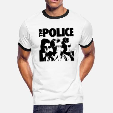 Dimension The Police Dimensions - Men's Ringer T-Shirt
